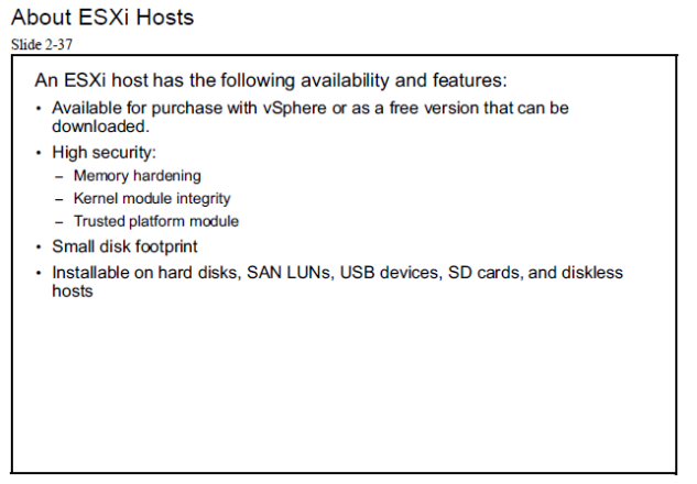 about Esxi