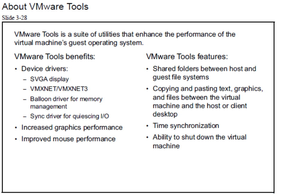 about vmware tools
