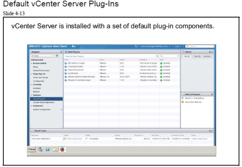 default vcenter server plug-ins | مجازی سازی | آموزش مجازی سازی | مجازی سازی شبکه