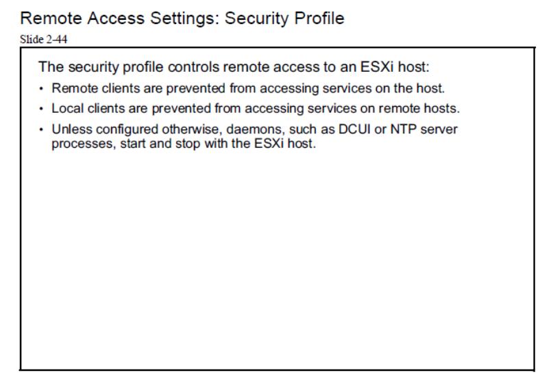 esxi host remote access