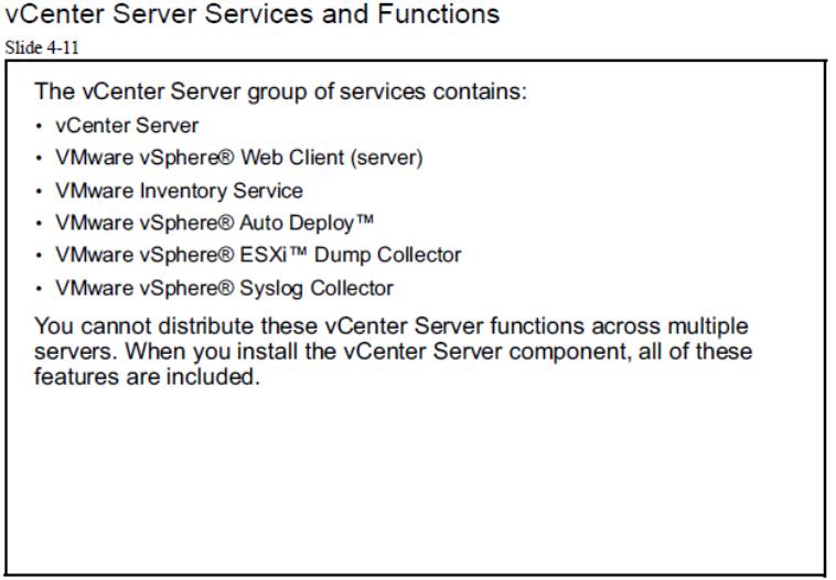 vcenter server services and functions | مجازی سازی سرور | آموزش مجازی سازی | نصب شبکه