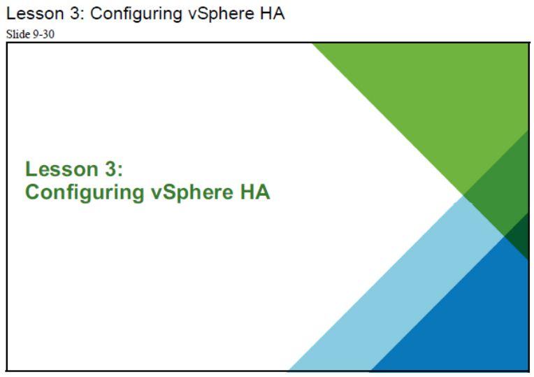 آموزش مجازی سازی سرور | مجازی سازی | مجازی سازی سرور | آموزش مجازی سازی | configuring vsphere ha