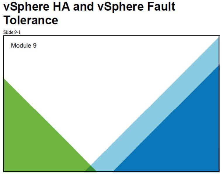 آموزش مجازی سازی سرور | مجازی سازی | مجازی سازی سرور | آموزش مجازی سازی | vsphere ha and vsphere fault tolerance
