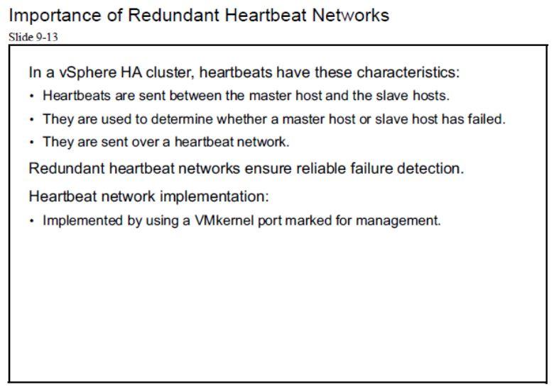 آموزش مجازی سازی سرور | مجازی سازی | مجازی سازی سرور | آموزش مجازی سازی | importance of redundant heartbeat networks