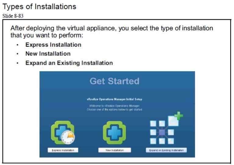 آموزش مجازی سازی سرور | مجازی سازی | مجازی سازی سرور | آموزش مجازی سازی | types of installations vrealize