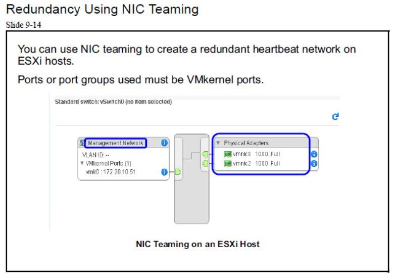 آموزش مجازی سازی سرور | مجازی سازی | مجازی سازی سرور | آموزش مجازی سازی | redundamcy using nic teaming