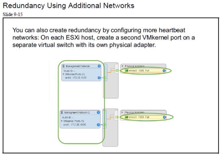 آموزش مجازی سازی سرور | مجازی سازی | مجازی سازی سرور | آموزش مجازی سازی | redundancy using additional networks