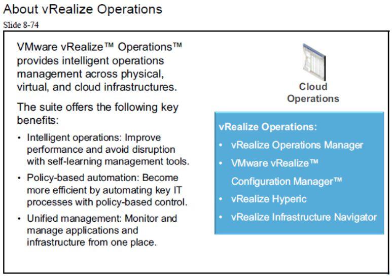 آموزش مجازی سازی سرور | مجازی سازی | مجازی سازی سرور | آموزش مجازی سازی | about vrealize operations