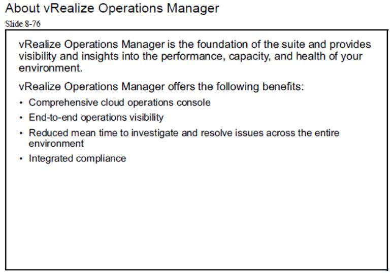 آموزش مجازی سازی سرور | مجازی سازی | مجازی سازی سرور | آموزش مجازی سازی | about vrealize operations manager