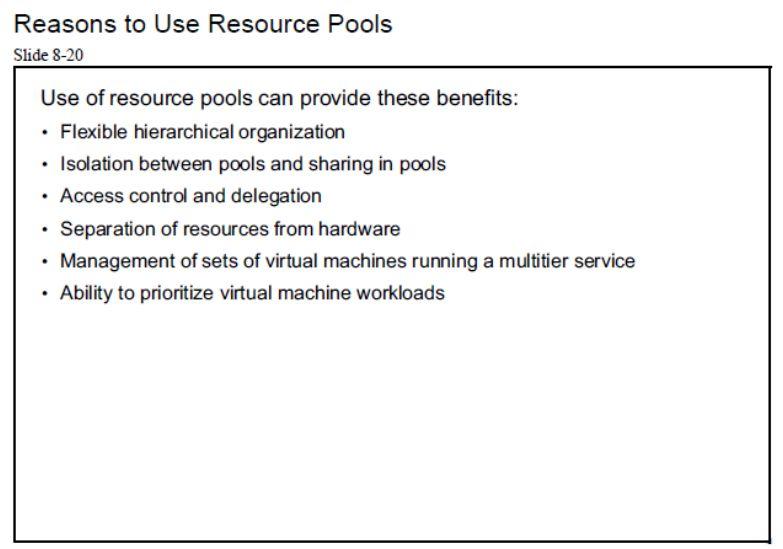 آموزش مجازی سازی سرور | مجازی سازی | مجازی سازی سرور | آموزش مجازی سازی | reasons to use resource pools