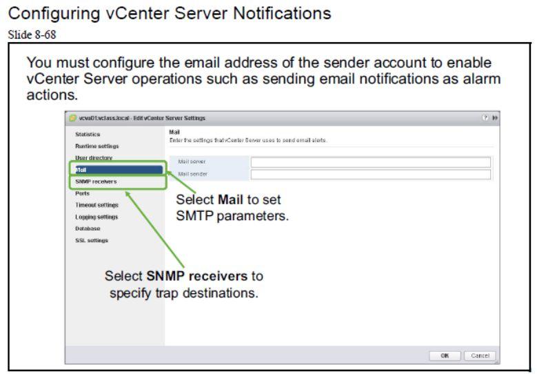 آموزش مجازی سازی سرور   مجازی سازی   مجازی سازی سرور   آموزش مجازی سازی   configuring vcenter server notifications